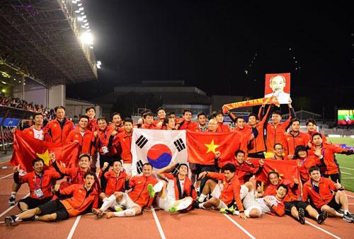 Đội tuyển U22 Việt Nam đã có tấm HCV SEA Games sau 60 năm chờ đợi