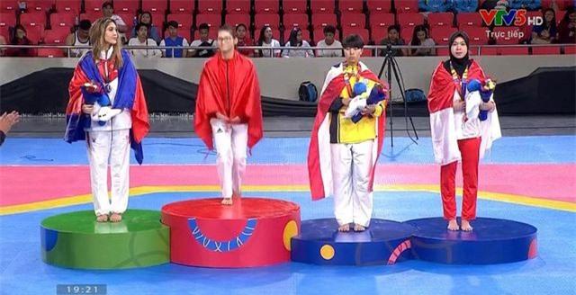 Nữ vận động viên taekwondo Campuchia sở hữu nhan sắc như hoa hậu - 3