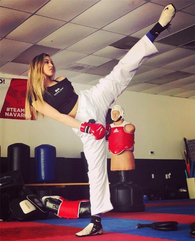 Nữ vận động viên taekwondo Campuchia sở hữu nhan sắc như hoa hậu - 5