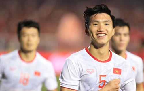 Văn Hậu xứng đáng là người hùng trong trận chung kết khi ghi 2 bàn thắng quan trọng cho U22 Việt Nam.