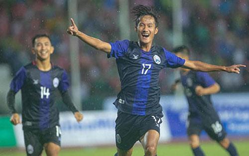 'Ronaldo của U22 Campuchia' lập kỷ lục ở SEA Games 2019