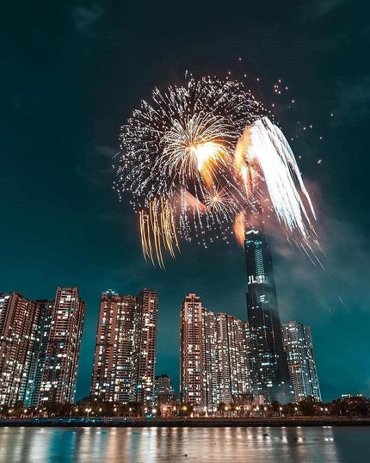 TP.HCM: Dự kiến bắn pháo hoa ở toà nhà Landmark đón Tết Dương lịch