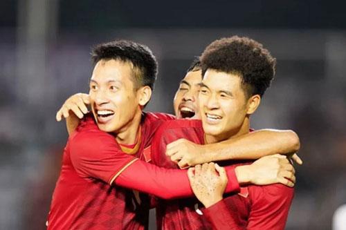 """""""Thế hệ vàng"""" mới của bóng đá Việt Nam. (Ảnh: Fox Sport Asia)"""