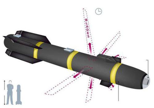 Mỹ dùng tên lửa Ninja cắt đôi xe phiến quân
