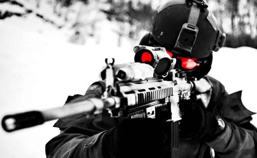 """Xuất hiện tai nghe """"thần"""", phát hiện lính bắn tỉa trong nửa giây"""