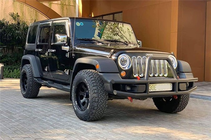 Can canh Jeep Wrangler Unlimited gan 2,9 ty tai Ha Noi