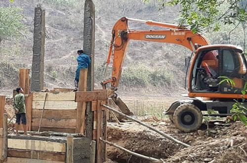 Công trình cầu treo dân sinh bản Púng Bửa (ảnh internet)
