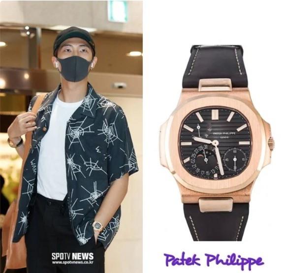 BTS, Choáng khi nhìn thấy đồng hồ đeo tay của trưởng nhóm BTS RM, BTS RM, Bts, RM, trưởng nhóm BTS, đồng hồ của RM BTS, BTS giàu cớ nào, BTS có bao nhiêu tiền, BTS 2019