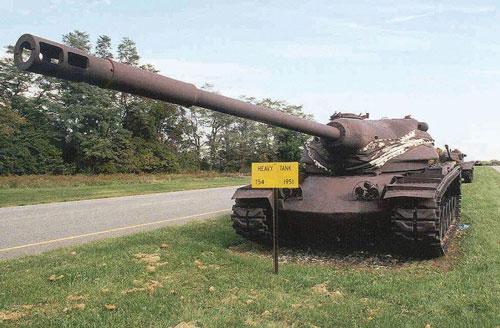 """Mỹ từng có xe tăng T54 trong biên chế, """"hầm hố"""" hơn T-54 Liên Xô nhiều!"""