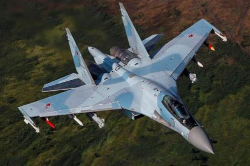 Tiêm kích Su-35.