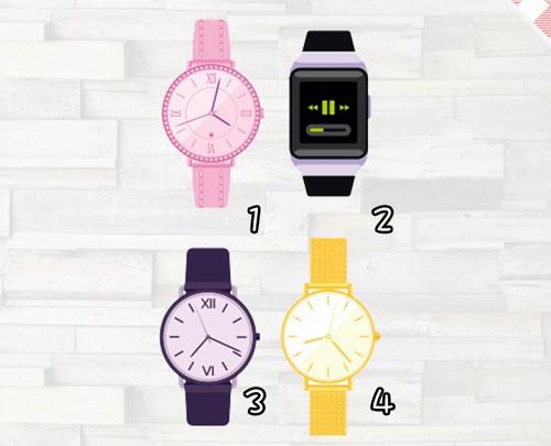 Bạn chọn chiếc đồng hồ nào?