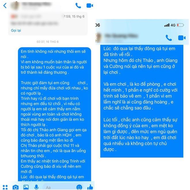 Biến lớn showbiz: Hồ Quang Hiếu bị một cô gái trẻ tung bằng chứng tố hiếp dâm, rủ đi bay lắc rồi cướp đời con gái? - Ảnh 10.