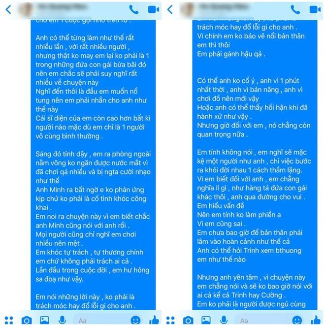 Biến lớn showbiz: Hồ Quang Hiếu bị một cô gái trẻ tung bằng chứng tố hiếp dâm, rủ đi bay lắc rồi cướp đời con gái? - Ảnh 12.