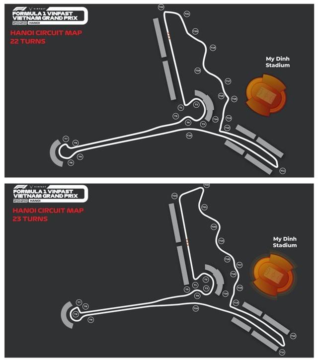 Đường đua F1 Hà Nội công bố các thay đổi về sơ đồ đường đua - Ảnh 2.