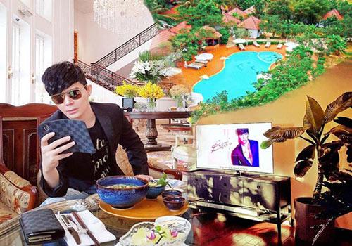 Cuộc sống sang chảnh của ca sĩ Nathan Lee vừa tậu biệt thự 380 tỷ ở Mỹ