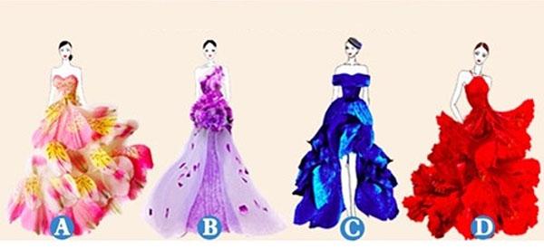 Bạn chọn chiếc váy dạ hội nào?
