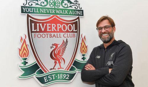 Liverpool gia hạn hợp đồng với HLV Juergen Klopp