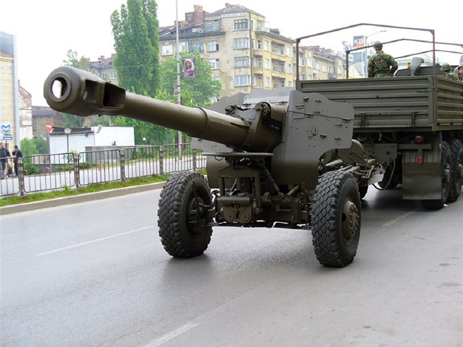 Cuc doc: Viet Nam da gan duoc phao 152mm D-20 len xe tai tu… thoi bao cap?-Hinh-4