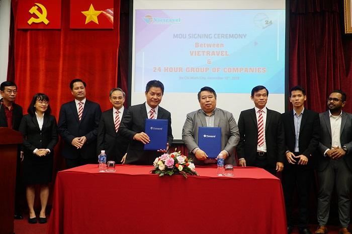 """Vietravel """"bắt tay"""" doanh nghiệp Myanmar phát triển hàng không và du lịch"""