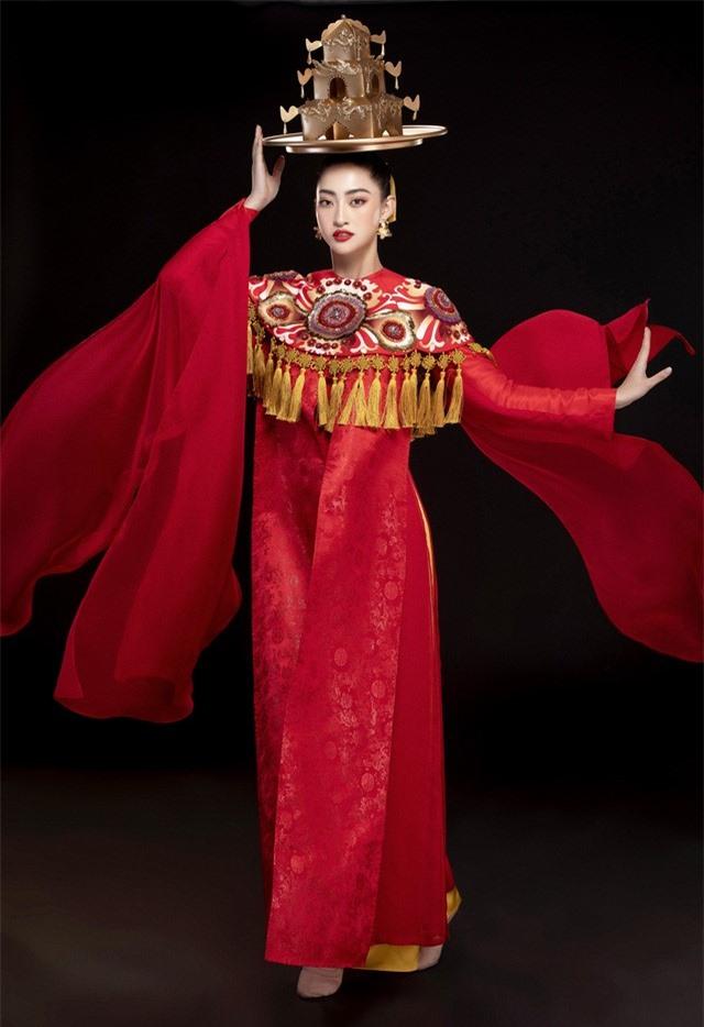 Hoa hậu Lương Thùy Linh mang điệu múa mâm đến Miss World 2019 - Ảnh 2.