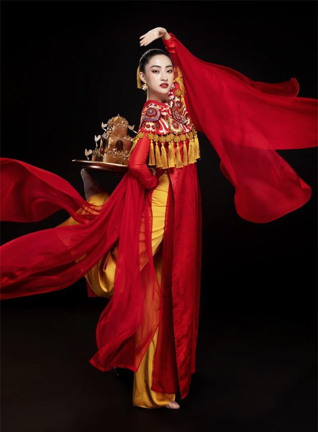 Hoa hậu Lương Thùy Linh mang điệu múa mâm đến Miss World 2019 - Ảnh 3.