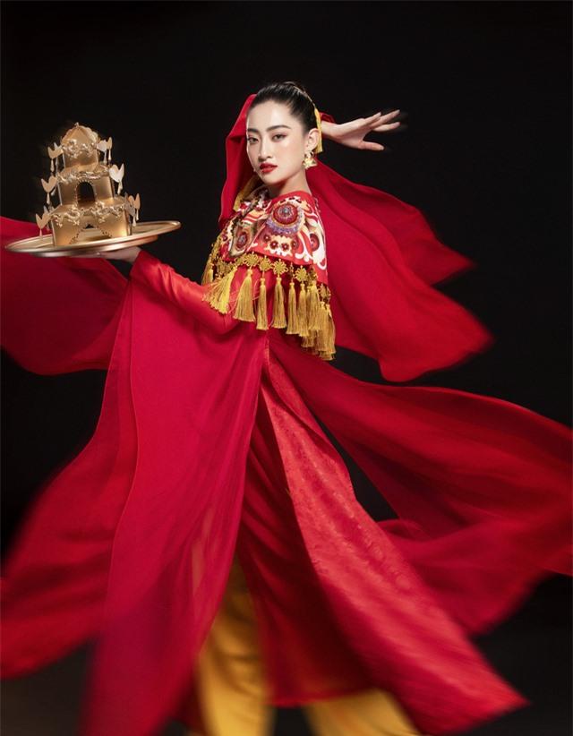 Hoa hậu Lương Thùy Linh mang điệu múa mâm đến Miss World 2019 - Ảnh 4.