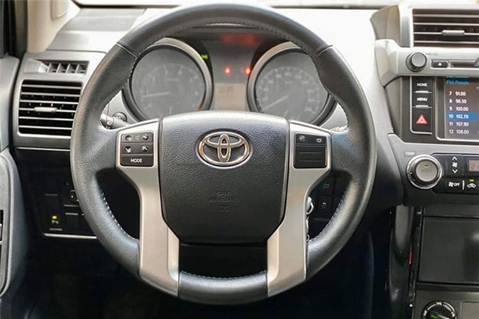 Toyota Land Cruiser Prado dung 3 nam ban 1,88 ty o Ha Noi-Hinh-5