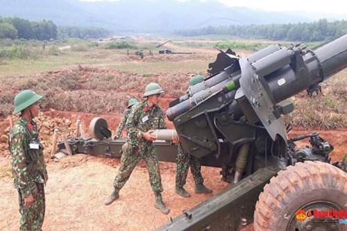 Lựu pháo D-20 có cỡ nòng 152mm từng là khẩu pháo nguy hiểm bậc nhất trong tay binh chủng pháo binh Việt Nam. Đây là khẩu pháo do Liên Xô thiết kế, ra đời từ năm 1950 và được Việt Nam sử dụng khá nhiều trong biên chế. Nguồn ảnh: QDND.