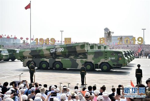 """DF-100 được Trung Quốc """"quảng bá"""" là đủ khả năng đánh bại các hệ thống phòng không của Nga và Mỹ. Nguồn: Sina"""
