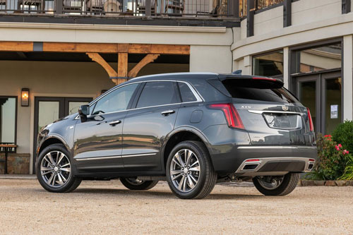 3. Cadillac XT5 2020 (giá khởi điểm: 45.090 USD).