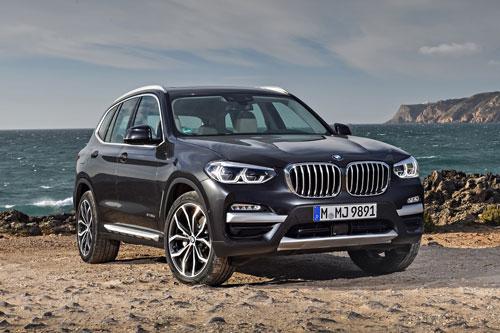 5. BMW X3 2020 (giá khởi điểm: 43.000 USD).