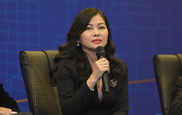 Bà Trần Thị Mỹ Lộc, Phó Tổng Tổng giám đốc Phụ trách Kinh doanh Công ty CP Vinhomes