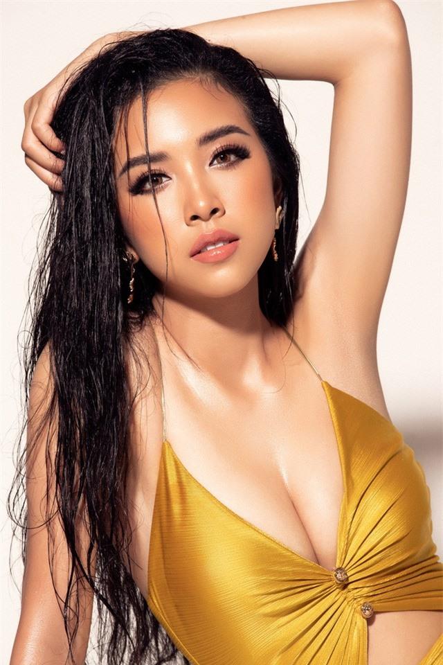 """Á hậu Thúy An khoe dáng """"nuột nà"""" với bikini vàng bắt mắt tại Miss Intercontinental - Ảnh 5."""