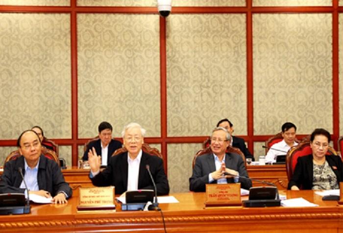 Ngày 15/11, tại trụ sở Trung ương Đảng, dưới sự chủ trì của Tổng Bí thư, Chủ tịch nước Nguyễn Phú Trọng, Bộ Chính trị đã có buổi làm việc với Thường trực Tỉnh ủy, Ban Thường vụ Tỉnh ủy Thừa Thiên Huế và tán thành với việc sớm ban hành nghị quyết cho sự phát triển của Thừa Thiên Huế