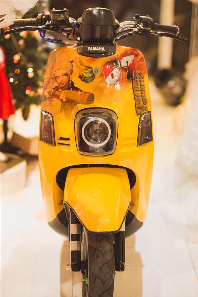 """Cuộc """"lột xác"""" ngoạn mục của chiếc xe ga Yamaha bị lãng quên tại Việt Nam ảnh 1"""