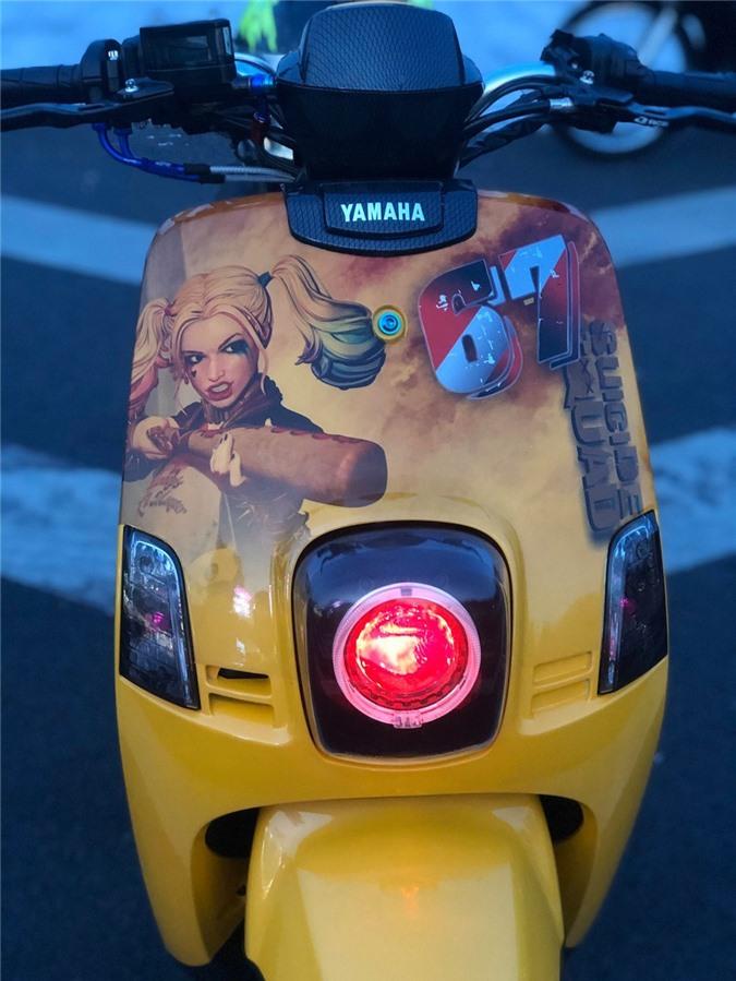 """Cuộc """"lột xác"""" ngoạn mục của chiếc xe ga Yamaha bị lãng quên tại Việt Nam ảnh 11"""