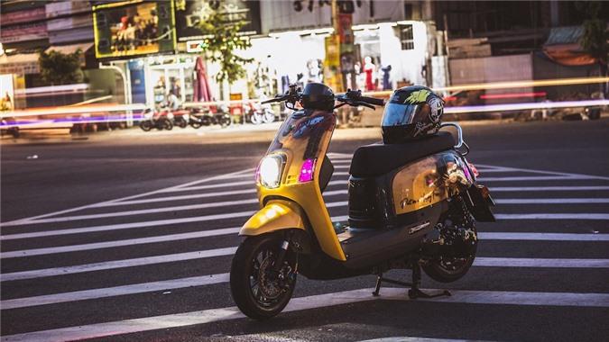 """Cuộc """"lột xác"""" ngoạn mục của chiếc xe ga Yamaha bị lãng quên tại Việt Nam ảnh 17"""