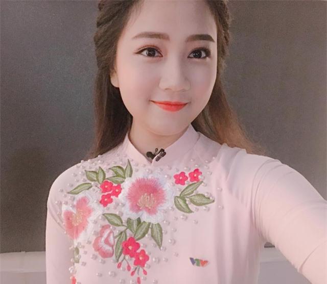Hoa khôi Sinh viên 2018 trở thành biên tập viên truyền hình - 7