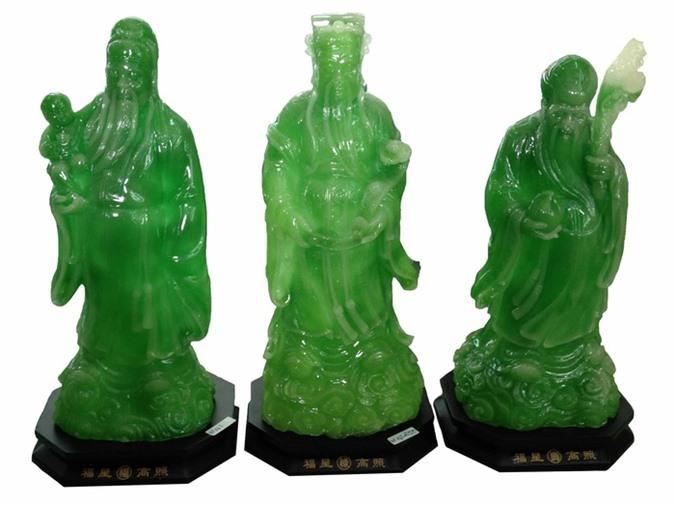 Ý nghĩa phong thủy đặc biệt của tượng 3 ông Phúc- Lộc- Thọ không phải ai cũng biết
