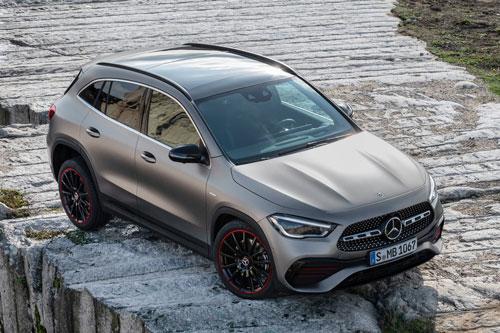 Mercedes-Benz GLA 2020.