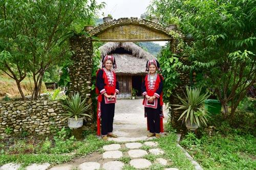 Dao's homestay của Triệu Mềnh Quyên. Ảnh: NVCC