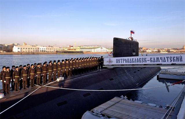 """Uy lực đáng gờm của tàu ngầm """"thợ săn đại dương"""" Nga - 1"""
