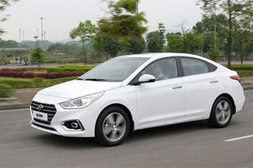 Hyundai Accent tiếp tục đánh bại 'đàn em' Grand i10 giá rẻ