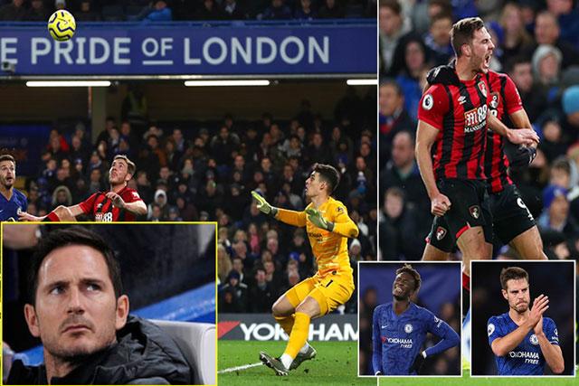 Nhiều CĐV cho rằng, Chelsea thua Bournemouth là do sai lầm của Frank Lampard