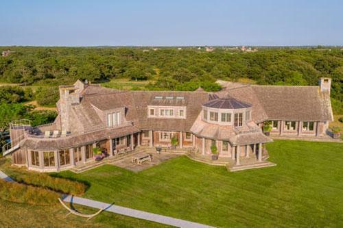 Khu bất động sản trị giá 12 triệu USD của nhà Obama. Ảnh: LandVest Martha's Vineyard.