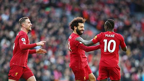 Liverpool thiết lập kỷ lục người Anh không làm được trong 131 năm