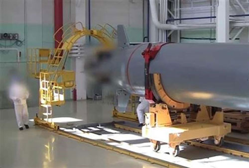 Ngư lôi hạt nhân (tàu ngầm không người lái cảm tử) Poseidon (Status-6) của Nga