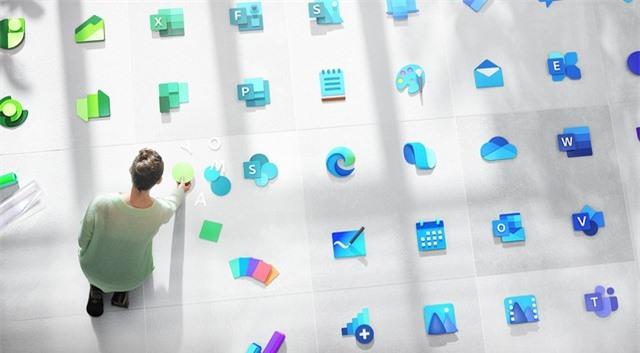 Microsoft công bố thiết kế logo Windows mới - Ảnh 1.