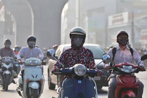 Bộ Y tế đưa ra khuyến cáo đối phó với ô nhiễm không khí