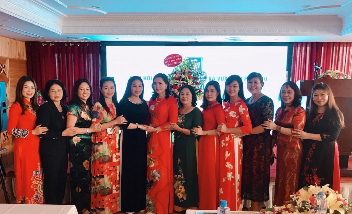 Nữ doanh nhân hội viên chi hội 2 Việt Trì.